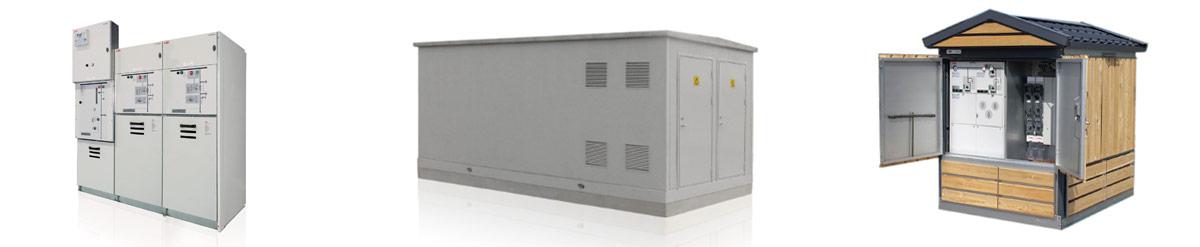 Cabine elettriche di trasformazione M.T / B.T.