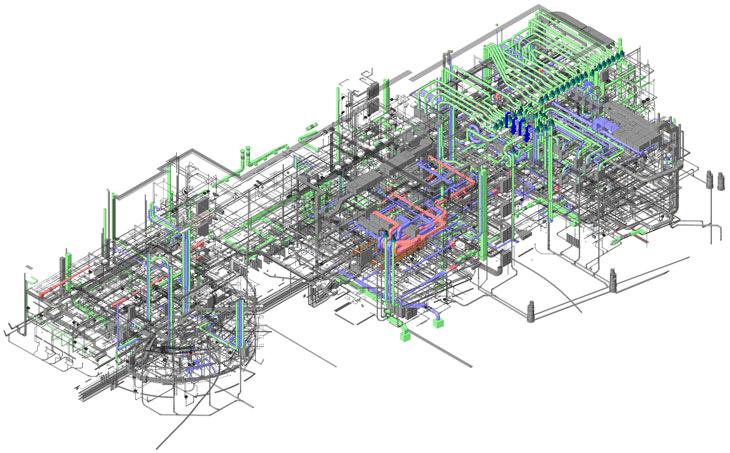 progettazione impianti tecnologici